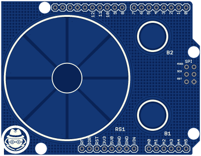 Radial Test Board (top view)